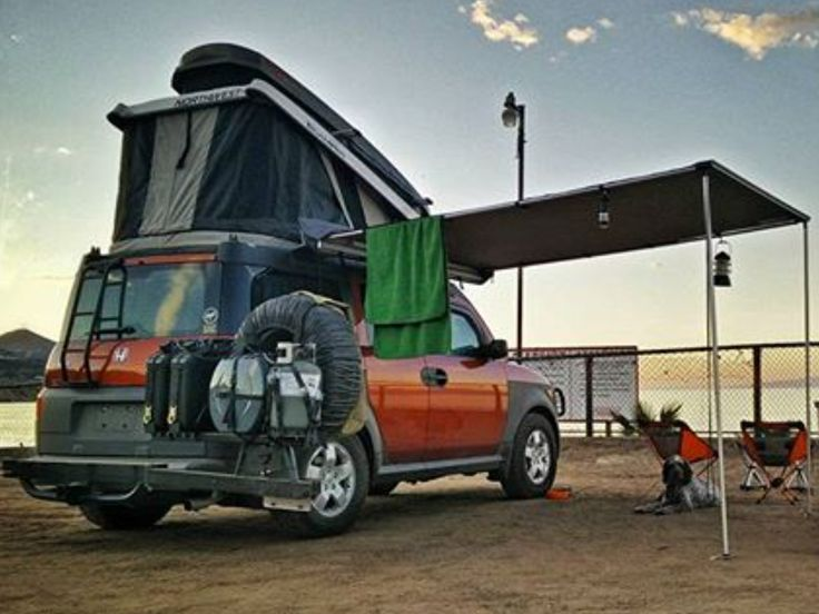 honda element camper conversions