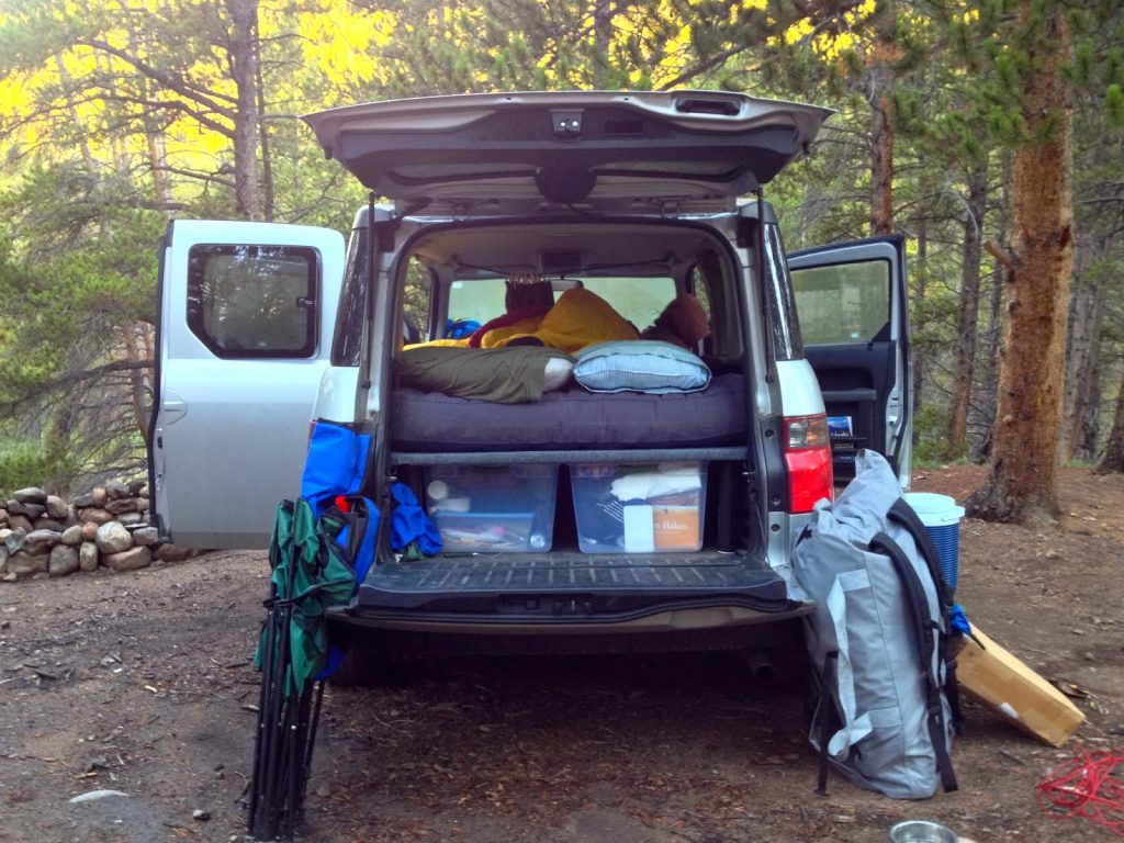 honda element camper