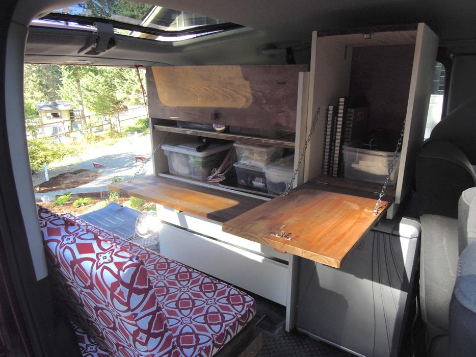 Honda Element Camper Cabinet