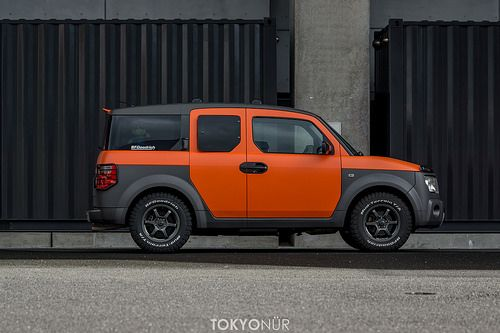 Perfect Honda Element offroad JDM styling Setup