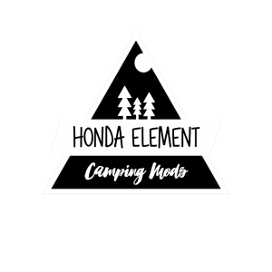 Honda Element Camping Mods
