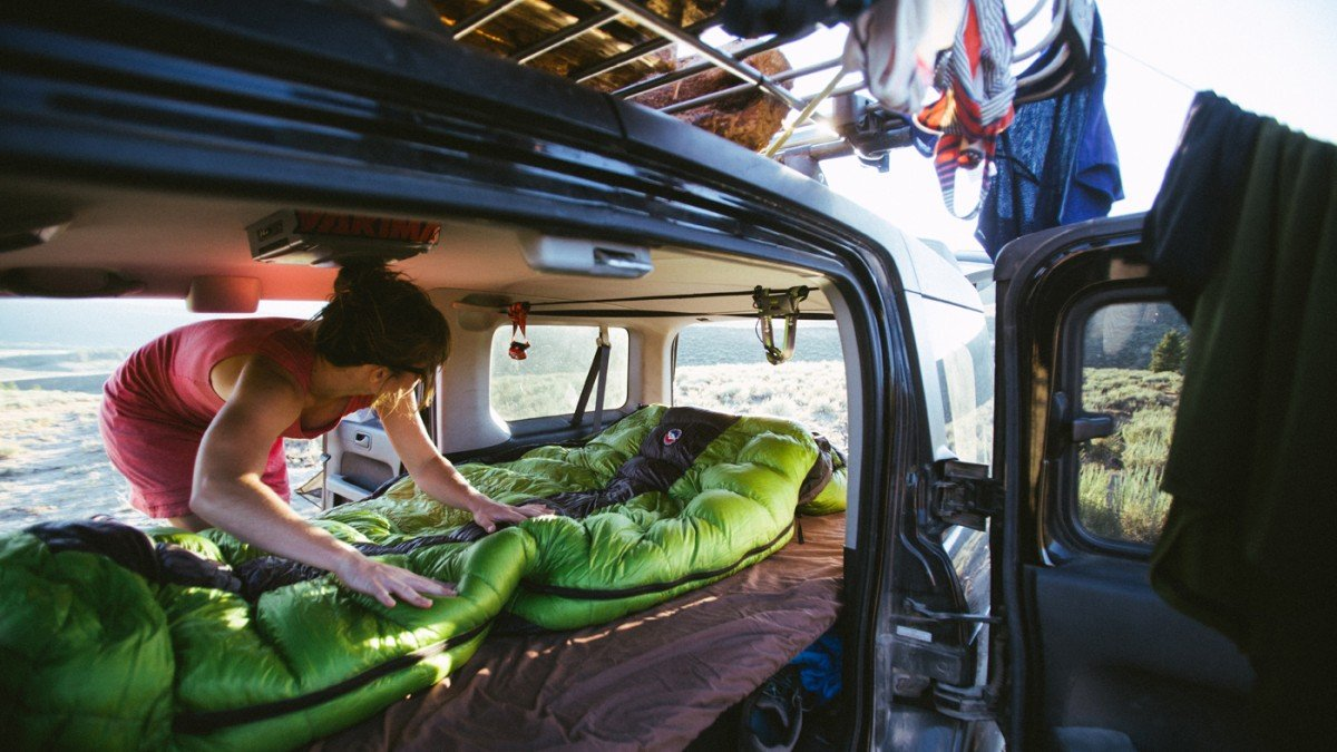 Sleeping Bag Honda Element
