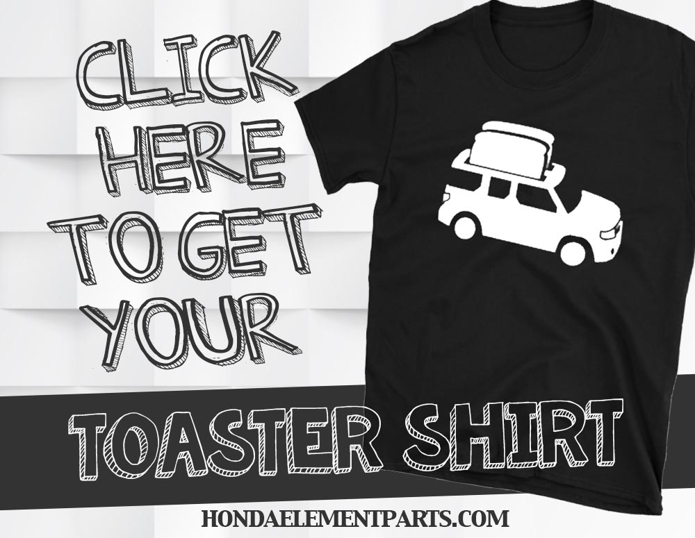 Honda Element Toaster Shirt