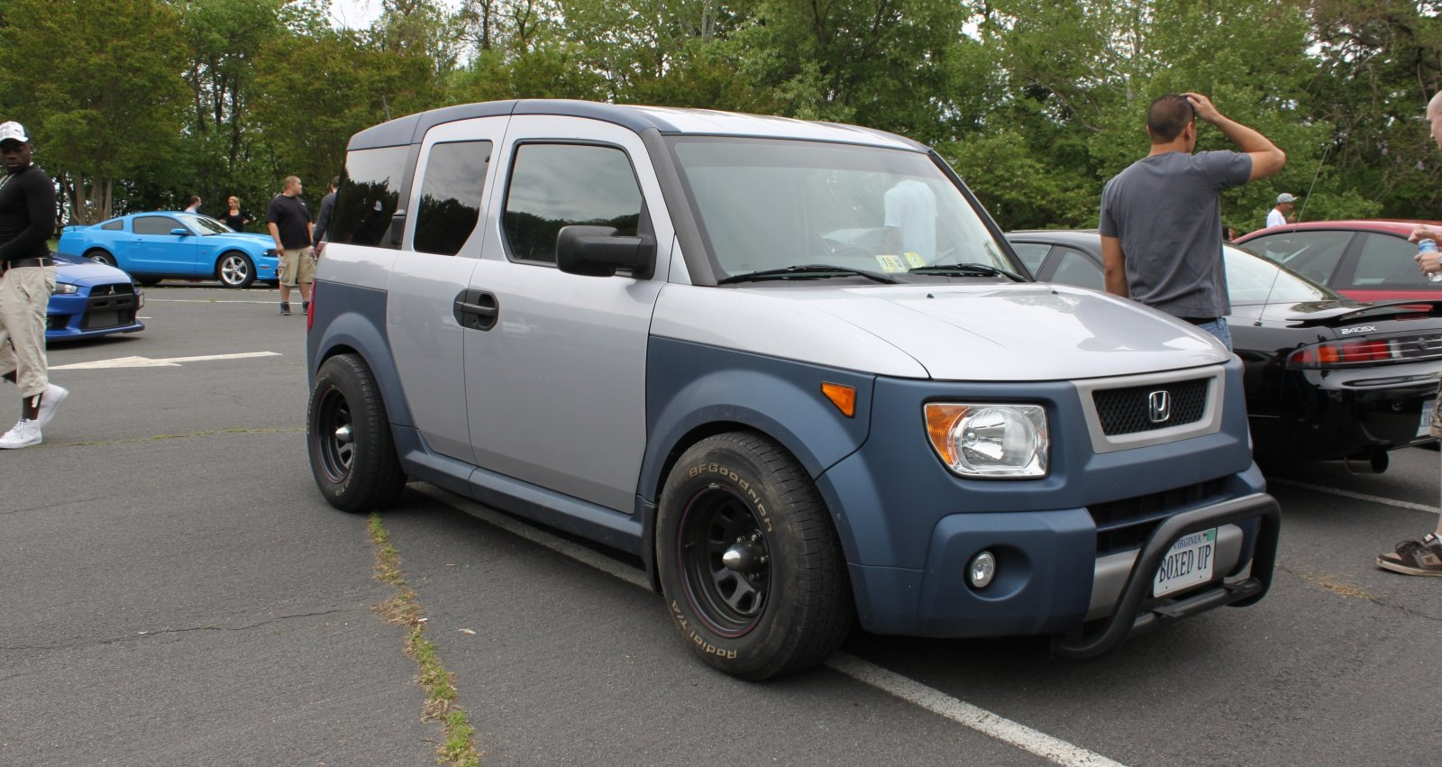 Blue Plastics JDM Honda Element