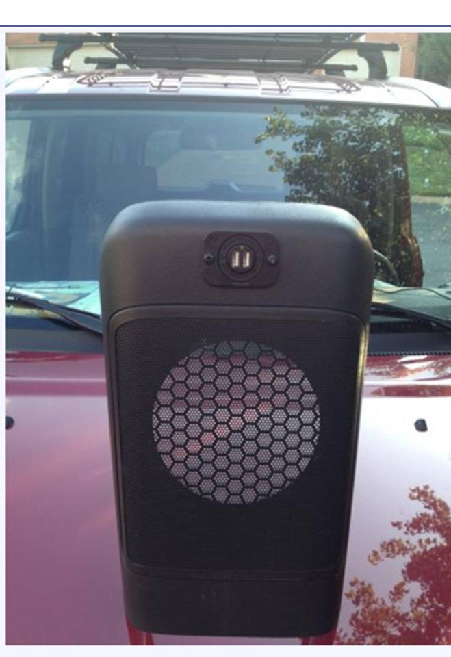 honda element dual usb charger port charging devices clean install subwoofer console