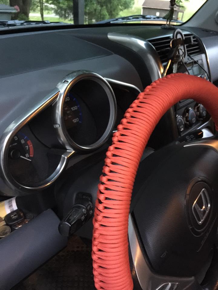 Paracord Steering Wheel