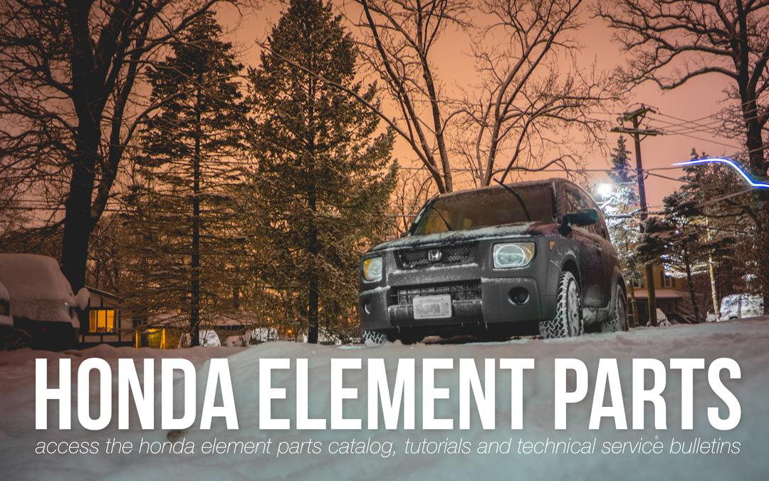 honda element parts