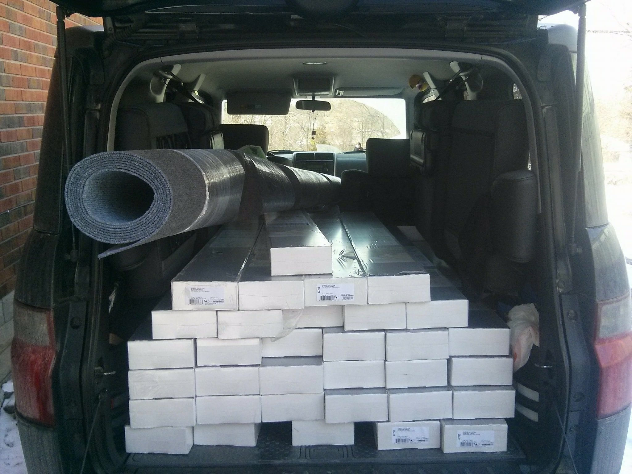 Honda Element Interior Dimensions Cargo Area Space