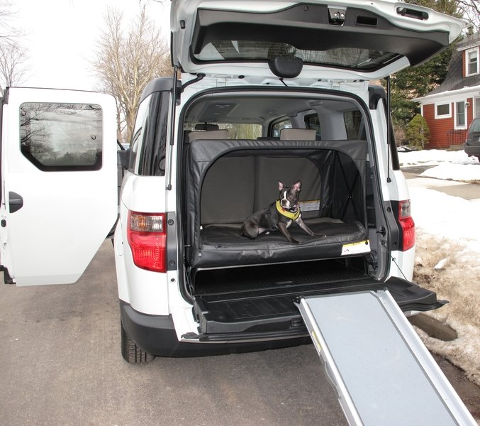 Honda Element Interior Dimensions Cargo Area Space Dog Friendly Edition