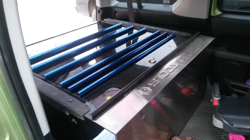 Honda Element Interior Dimensions Matco Tool Box fits inside the Cargo Area 2