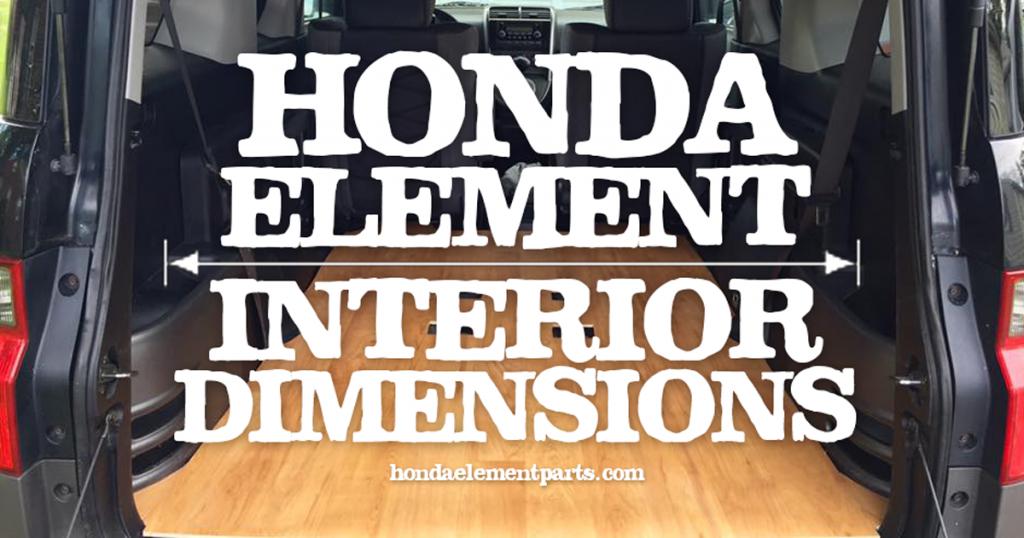 HondaElementInteriorDimensionsCargoAreaSpaceArrows