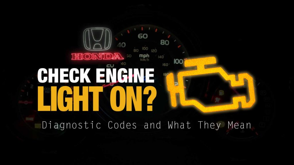 honda element check engine light diagnostic codes and what they mean obd 2