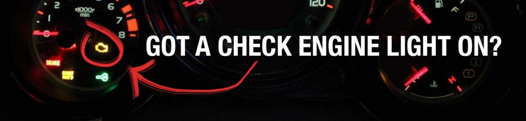 honda element got a check engine light on