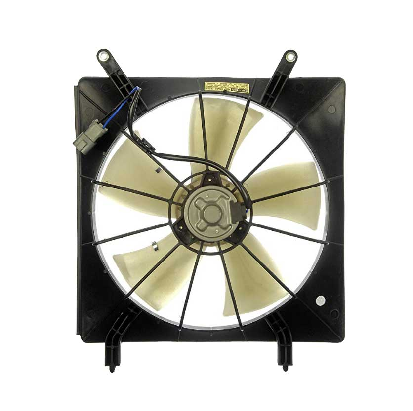 how to replace honda element radiator fan