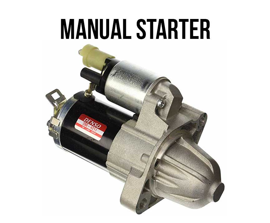 How To Change Honda Element Starter The Easy Way manual 5 speed starter