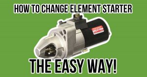 how to change honda element starter the easy way article