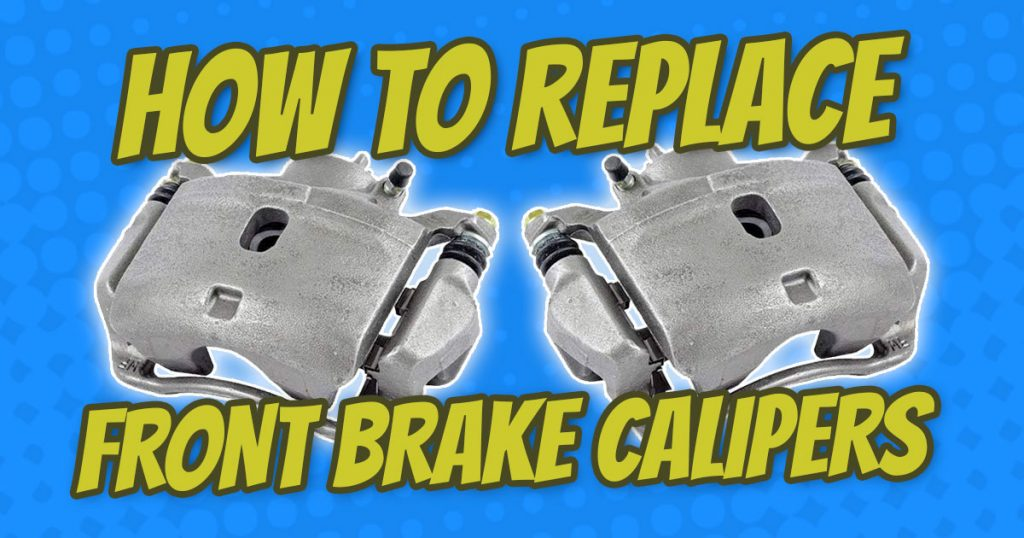 how to replace honda element front brake calipers