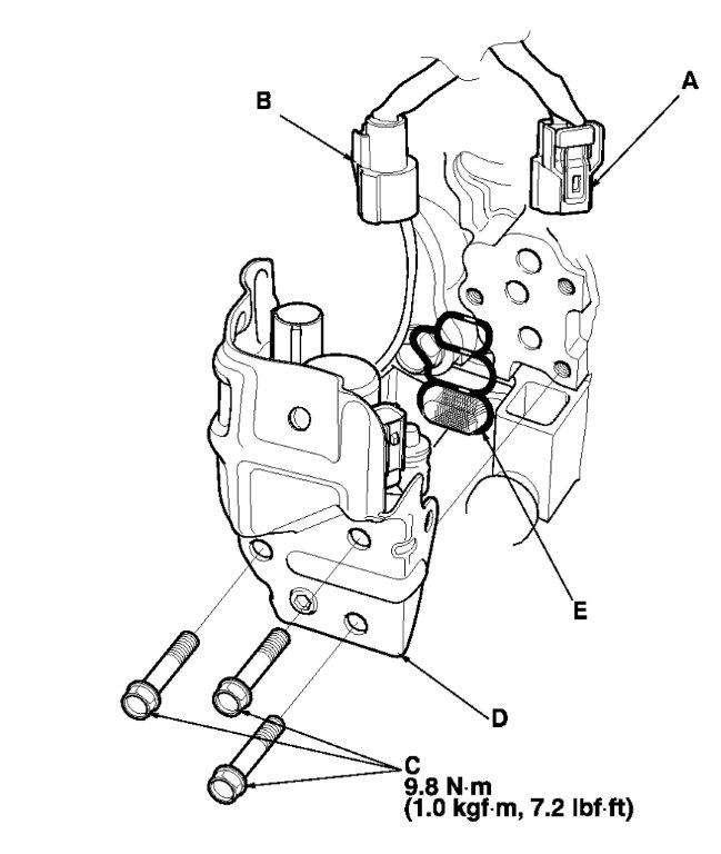 honda element vtec solenoid torque specs