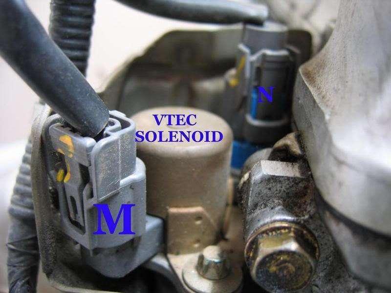 Honda Element K24 Part and Sensor Vtec Solenoid Diagram 13