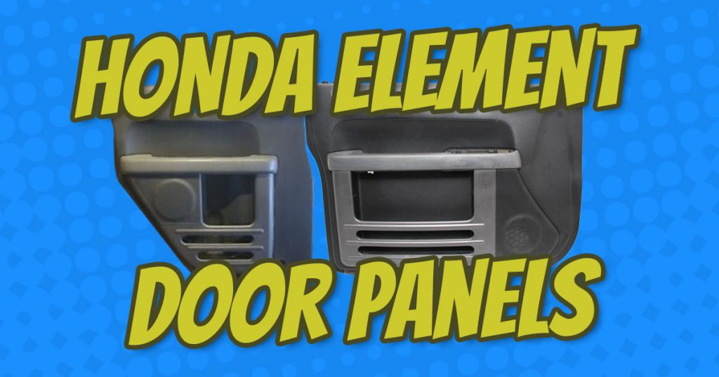 how to remove honda element door panels