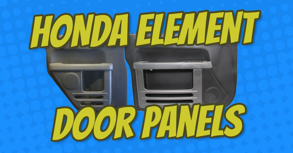 How To Remove Honda Element Door Panels