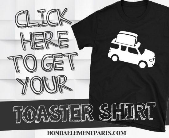 Honda Element Toaster Shirt
